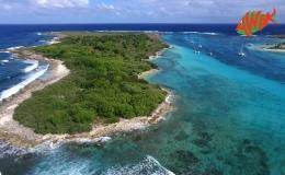 AWAK-Guadeloupe-excursion-petite-terre-vue-aerienne-Terre-de-Bas