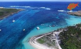 AWAK-Guadeloupe-excursion-petite-terre-vue-aerienne-lagon