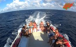AWAK-Guadeloupe-excursion-petite-terre-retour-pont-superieur