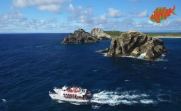 AWAK-Guadeloupe-excursion-petite-terre-Pointe-des-Chateaux05