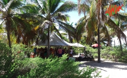 AWAK-Guadeloupe-excursion-petite-terre-campement-dejeuner-barbecue