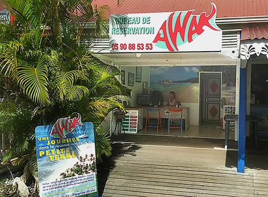 bureau reservation AWAK guadeloupe excursion petite terre 545x400 - Contactez-nous